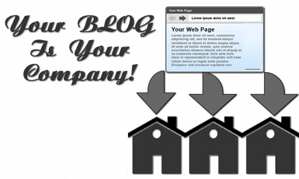 Your Blog Is Your Company