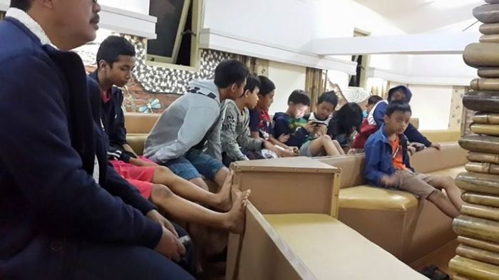 Anak-anak dari Panti Asuhan Pondok Rajawali Lippo Cikarang